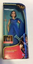 Original Dc Comics Wonder Woman Barbie Doll 2017 Diana Princess Hidden Sword New