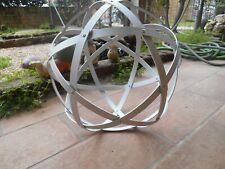 Pentasfera (Genesa Crystal a 6 cerchi) alluminio satinato diametro 30 cm