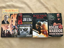 WWII History Information, Voices of D-Day, Black Hawk Down, and Rogue Warrior