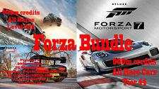 Forza Horizon 3,4 and Forza MotorSport 7 (Modded Account BUNDLE) READ DESC