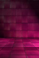 Studio Violet Room Scene 5x7ft Photography Background Vinyl Photo Backdrop Props