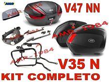 HONDA CB500 X 13-14  KIT 3 VALIGIE V35N + V47NN + TELAIO PLX1121 + 1121FZ + E95S