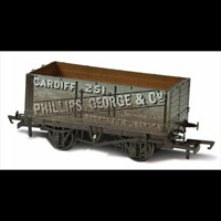 Oxford Rail OR76MW7019W Phillips George  Co 251 7 Plank Mineral Weathered