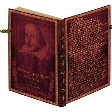 NWT Paperblanks 400 Anniversary Shakespeare Midi Lined Journal 9781439735848