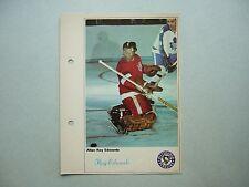 1971/72 TORONTO SUN NHL ACTION HOCKEY PHOTO ROY EDWARDS SHARP!! TORONTO SUN