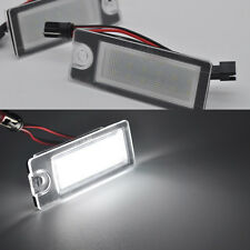 2x Error Free LED License Plate lights for Volvo V70 2000-2007 xc70 s60 xc90 S80