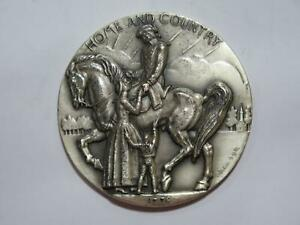 DAUGHTERS OF THE AMERICAN REVOLUTION MEDALLIC ART CO NY 999 SILVER MEDAL 🌈⭐🌈