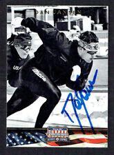 Dan Jansen #78 signed autograph auto 2012 Panini Americana Heroes & Legends