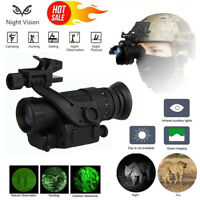 Digital Hunting Infrared HD IR Monocular Night Vision Helmet Telescope Portable