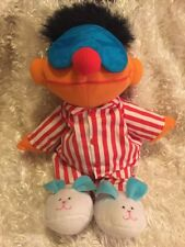 "TYCO 1996 Sesame Street Sing And Snore Ernie Plush Doll 18"" *READ"