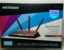 Netgear Nighthawk AC1900, Model # D7000 VDSL/ADSL Modem Router Combo**