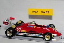 Model Ferrari 1:43 Ferrari F1 1982 126 C2 num 27