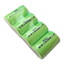 4 x 2/3A Size 1.2V NiMH 1300mAh Ni-MH Industrial Rechargeable Battery Batteries