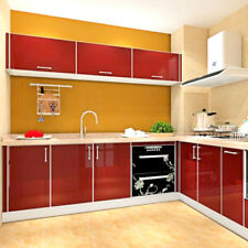 Self Adhesive Wallpaper Removable Mural Wall Sticker Decor 61x500cm Red