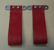 Morris minor interior door pulls 1 pair in red UK Supplier