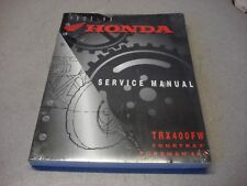 HONDA GENUINE FACTORY SERVICE MANUAL TRX 400 FW FOREMAN 400 1995-1999 61HM704