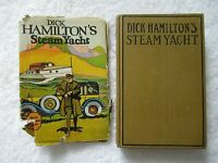 1911   DICK HAMILTON'S STEAM YACHT  By GARIS   Hardcover  w/ DJ    FIRST EDITION