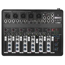 Professional 7-Channel Mic Line Audio Mixer Mixing Console S6M3