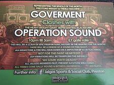 x4 CD set Historic 'WAR' SOUND CLASH- OPERATION SOUND V's GOVERMENT. dubplates!