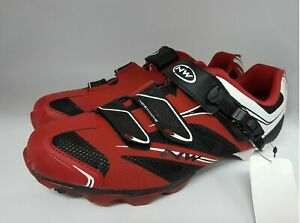 Northwave Scorpius SRS Shoes Size 41 Red White Black