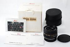 "Leica ELMARIT-R 35mm f/2.8 MF R-Cam ""Excellent in Box""  #1112"