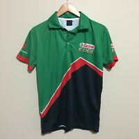 Castrol Edge V8 Supercars Official Racing Polo Shirt Green Mens Small