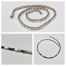 Necklace Silver Chain 925 Sterling Ca. 18 1/8in Jewellery