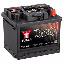 Yuasa YBX3063 12V Car Battery 45Ah 425A 063 Type Sealed Maintenance Free