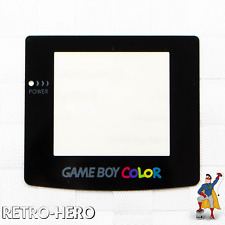 Nintendo Game Boy Color Display Front GBC screen gameboy replace black protect