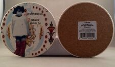 HOLY CRAP by Erin Smith Art DANGEROUS coaster - set of four A25452 - NIB