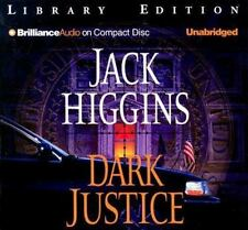 Dark Justice by Jack Higgins Unabridged Audiobook CD's