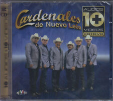 CD - Cardenales De Nuevo Leon NEW Serie 10+10 / 1 CD & 1 DVD FAST SHIPPING !