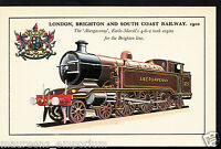Railway Transport Postcard- London, Brighton & South Coast Railway,1910 - RT1913