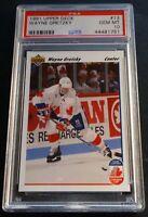1991 WAYNE GRETZKY UPPER DECK #13  PSA 10 TEAM CANADA (371)