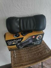 The gadget shop automatic neck & back massager in original box