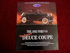 Franklin Mint Brochure - 1932 Ford Deuce Coupe