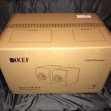 BRANDNEWSEALED KEF LS50 WIRELESS Flagship Speakers Black Active Music System