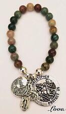 Agate Tibetan Silver Fashion Bracelets