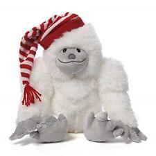 "GUND white abominable snowman plush Christmas toy NWT 13"" SNOWZILLA stuffed"