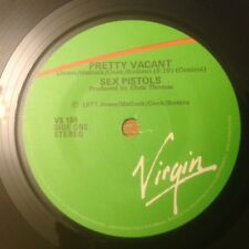 """Sex Pistols Pretty Vacant 1977 Rare New Zealand 7"""" Punk PIL Damned Clash Stooges"""