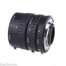 Full Auto Focus Macro Extension Tube Set for Nikon DSLR Cameras D3300 D7100 etc.