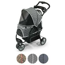 Gen7Pets Promenade Pet Stroller in Black Onyx for pets up to 50 pounds