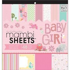 Me & My Big Ideas MAMBI Sheets Specialty Cardstock - 012490