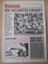 FUWO 9 - 29.2.1972 Nationalelf - Bohemians Prag 6:1 Hans-Jürgen Kreische