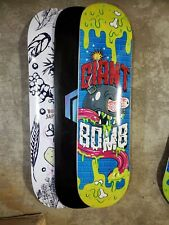 *RANDOM SKATE DECKS* - Lot of 3 with blemishes*