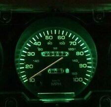 LED + Base Green Dash Light Upgrade Dodge Ram Ramcharger Cummins Gauge Cluster