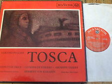SER 5507-8 Puccini Tosca / Price / Karajan etc. GROOVED O/S 2 LP box