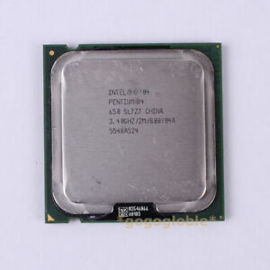 Intel® Pentium® 4 Processor 650 supporting HT Technology SL727 3.4GHz 2M 800MHz