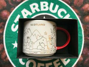 Starbucks Scotland Christmas YAH you are here 14fl oz mug