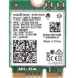 Intel AX201NGW Wi-Fi 6 Dual Band M.2 WiFi Card 802.11ax/ac BT5.0 2400Mbps